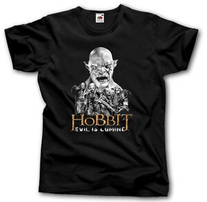 HOBBIT-EVIL-IS-COMING-SHIRT-S-XXXL-TOLKIEN-MOVIE-FILM