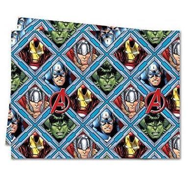 AVENGERS PLASTIC PARTY TABLE COVER DISNEY MARVEL HULK THOR IRON MAN NEW GIFT](Avengers Table Cover)