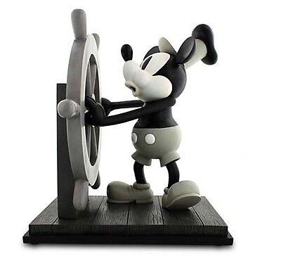Disney Parks Mickey Steamboat Willie Big Medium Figure Statue NEW IN BOX