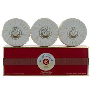 Roger & Gallet 3 x 100g  Perfumed Soap Jean Marie Farina Bath Body Gift Set