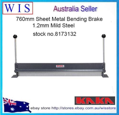 760mm Sheet Metal Bending Brake,1.2mm Mild Steel-8173132