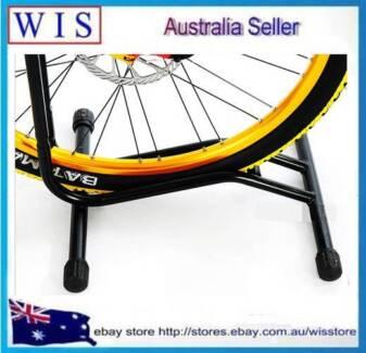 BLK Bike Stand Floor Sport Cycling Bicycle Bike Single Floor Parking Rack-96423