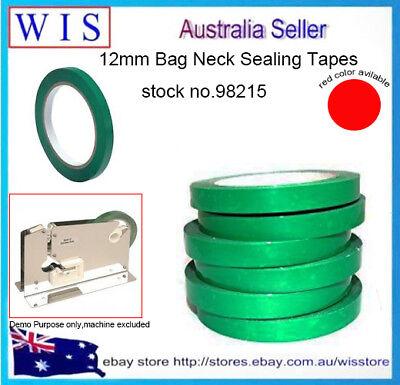PVC Neck Bag Sealing Tape,12mm, for Fruit / Veg / Meat -98215 Bag Neck Sealing Tape