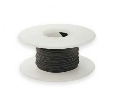 28 Awg Kynar Wire Wrap Ul1422 Solid Wiremod Type 100 Foot Spools Black New