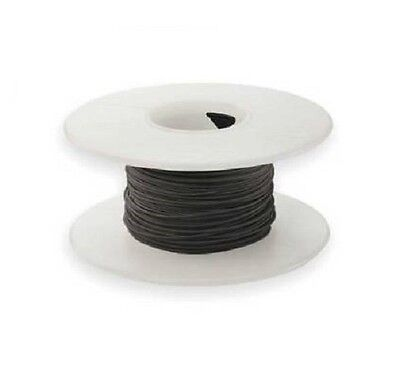 30 Awg Kynar Wire Wrap Ul1423 Solid Wiremod Type 100 Foot Spools Black New