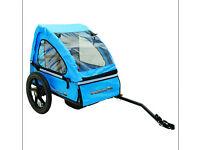 Spokey Joe blue bike trailer