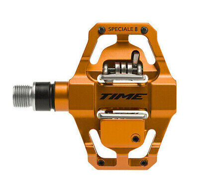 1b83bc0ab Time Speciale 8 Atac Mountain Bike MTB Enduro Pedals with cleats Orange