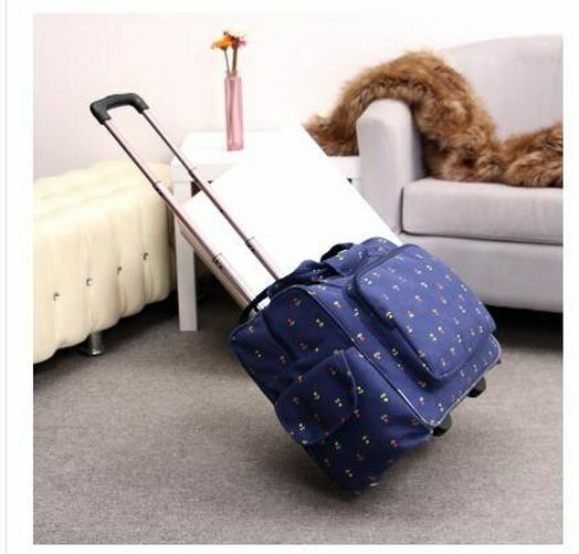 Women Travel Trolley Luggage Wheeled Business Spinner Suitca