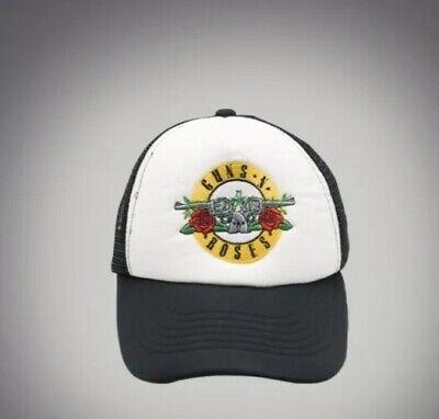 Guns N Roses Trucker Logo Cap Hat Music Bands Snapback