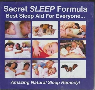 Secret Sleep Formula: Best Sleep Aid For Everyone... AUDIO BOOK CD Marcey