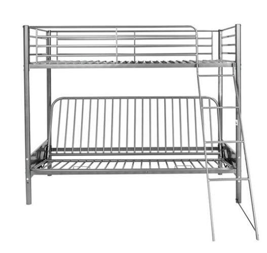 Metal Sofa Bunk Bed Minus Futon Identical To Home Frame From Argos 289 99
