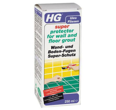 HG Super Protector For Protecting Wall and Floor Grout 250ml HG Grout Sealer