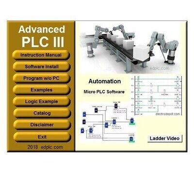 Programming Software Ladder And Logic. Virtual Plc Simulation Examples Manuals