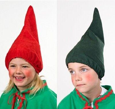 Kostüme 7 Zwerge (Zwergenmütze Kinder Kostüm 7 Zwerge Wichtelmütze Zwerg Wichtel Mütze Zipfelmütze)