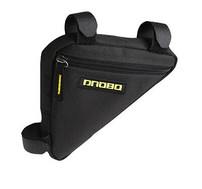 Bicycle Cycling Bike Frame Pannier Front Tube Triangle Bag Pipe Pouch Carrier UK