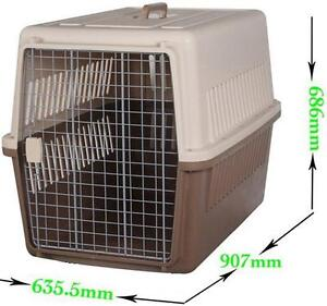 Extra Large Airline Approved Pet carrier Crate Airport West Moonee Valley Preview