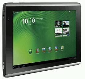 Acer boxed 10 inch android tablet