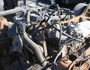 Parts Just removed off 2.5ltr Jeep TJ engine, tranny , t-case