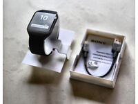 Sony smartwatch 3 in immaculate condition boxed as new condition