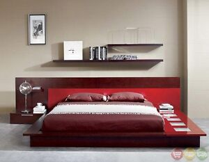 Beautiful contemporary platform bed