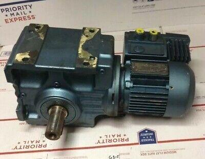 Used Sew-eurodrive 12 Hp 300-1800rpm Dft71d4mm03cw Gear Motor S67dt71d4mm03c