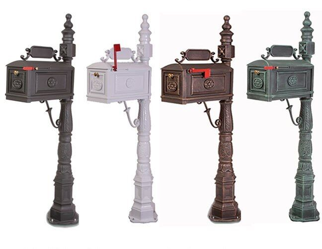 Classic Decorative Cast Aluminum Mail Box Mailboxes by Better Box Mailboxes