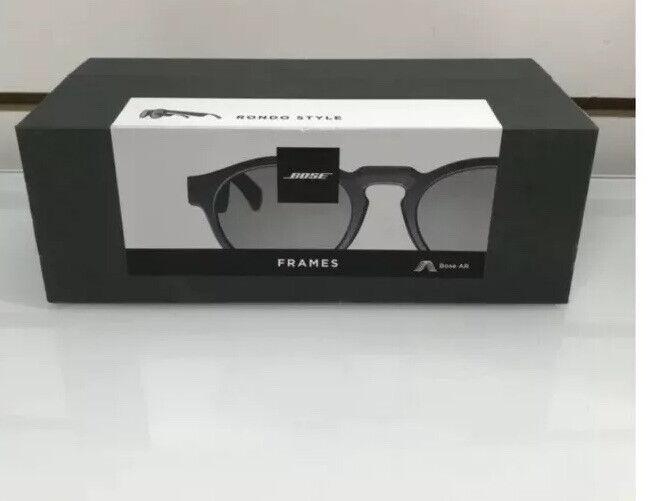 Bose Rondo Frames Audio Sunglasses - Black Smart Glasses