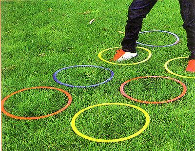 12 Agility Rings Speed Rings Soccer Basketball Football