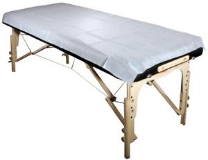 Spécial $6 pour 20 draps jetable table de massage /Disposable sh