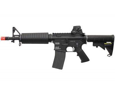 KWA Full Metal LM4 PTR Commando M4 CQB Gas Blowback Airsoft Gun 103-00203 for sale  Duarte