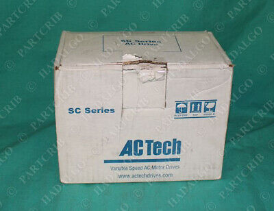 Ac Tech Lenze Sd230 Variable Speed Ac Motor Drive 3hp New