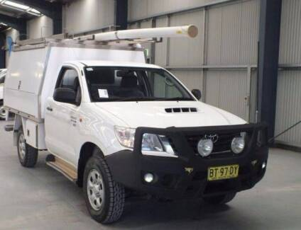 2013 Toyota Hilux Ute Diesel with XL service body (ex-Telstra)