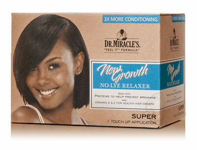Dr.Miracle's New Growth No-Lye Relaxer Kit 1 Application - Super