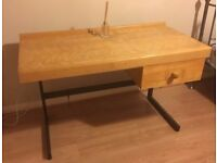 Large desk for sale 120x60x80cm high