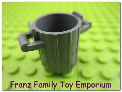 LEGO Enigmatic Bluish Gray Trash / Garbage Can Container Part SpongeBob 3825