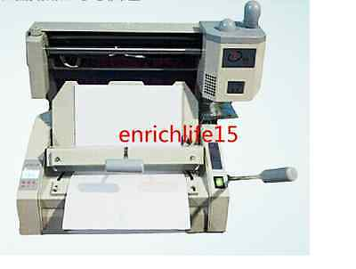 Manual Hot Glue Book Binding Binder Machine