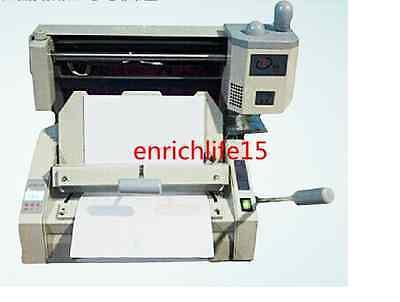 Manual Hot Glue Book Binding Binder Machine