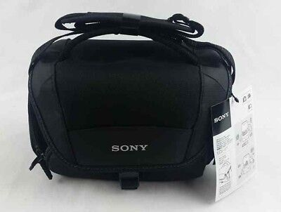 Authentic Sony Soft Carrying Case for Cyber-Shot Camera Black, LCSU21