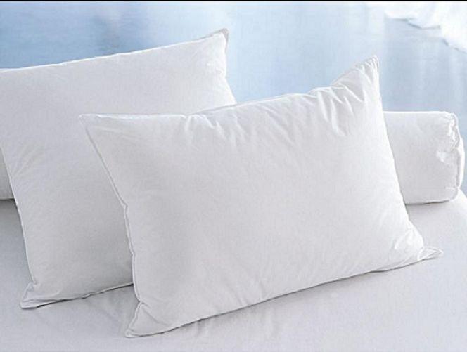 Luxus Baumwolle Kopfkissen Kissen 40x40cm 40x80 cm 50x70 cm 80x80cm Weiß 2er Set