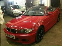 Bmw 320ci convertible swap or sell