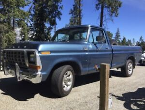 BEAUTY 1979 F150 Custom long bed truck