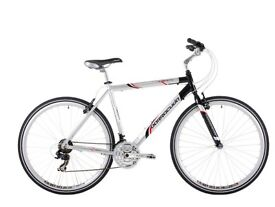 BRAND NEW BICYCLE - £300 - Barracuda Men's Liberty Trekking Bike - Silver/Black