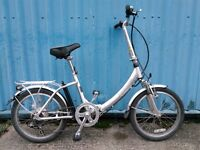 Aluminium Folding Electrobike without battery 1
