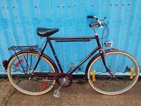 Raleigh Connoisseur vintage town bike