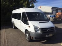 Ford Transit 16 Seater Minibus with COIF, Class 5 and PSV MOT till July 2018