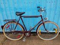 Raleigh Connoisseur vintage town bike 1
