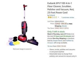 Floor Scrubber & Polisher with Vac /Ewbank/ Refurbished