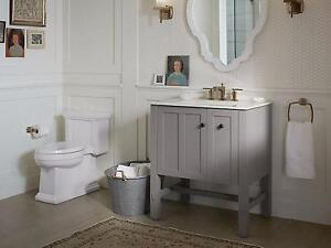Kohler Tresham Vanities with ceramic tops