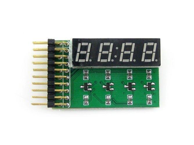 8 SEG LED Board Digital Tube Display Module 4-Digit 8-Segment LED Display Board