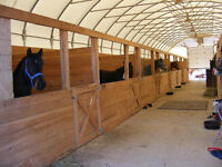 It a Home,a business and its a lifestyle. Horse stables business